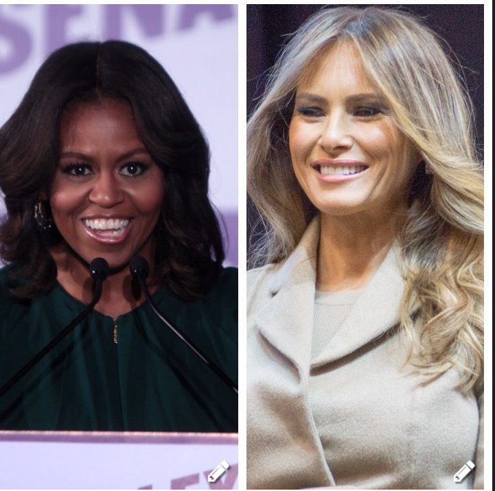 Michelle Obama, Melania Trump and Protecting White Women At All Costs